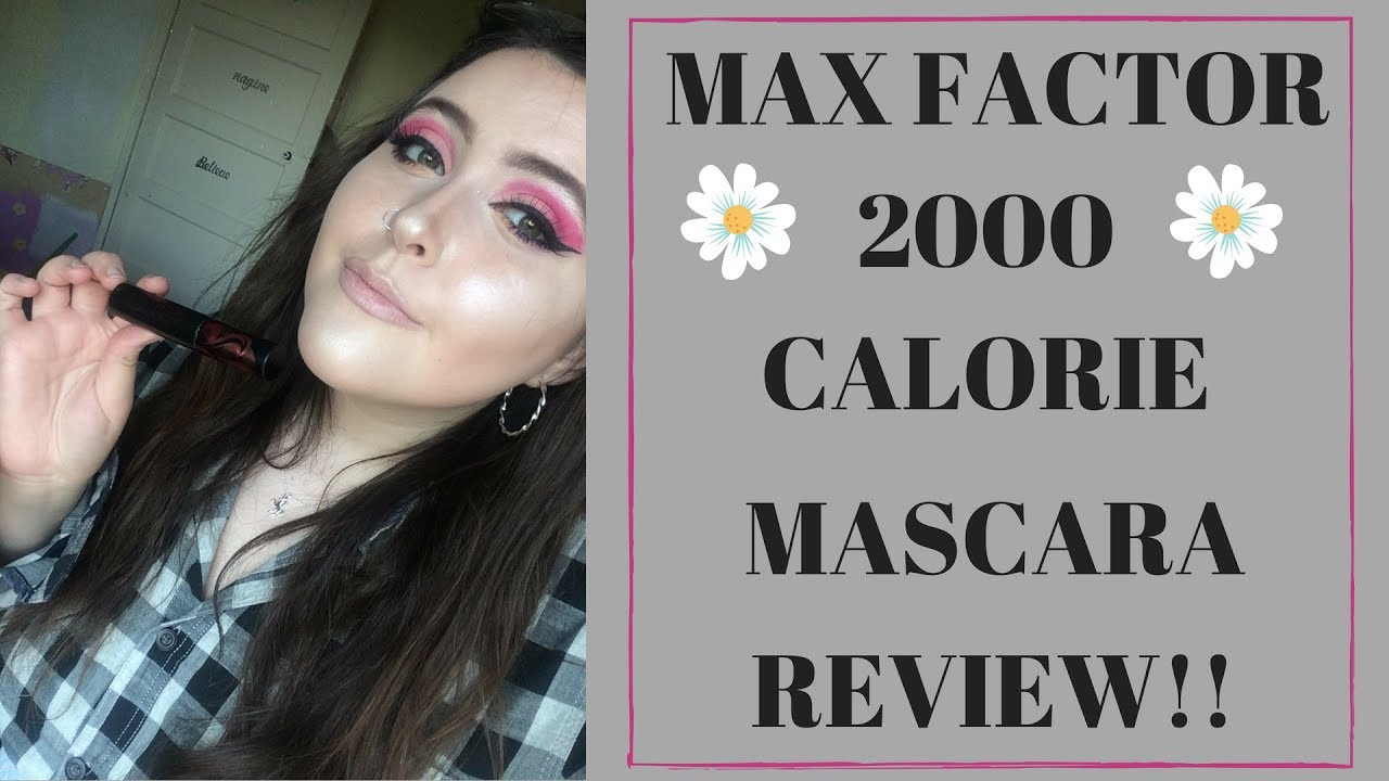 cc0efd17d8f Max Factor 2000 Calorie Curl Addict Mascara Review!! - YouTube