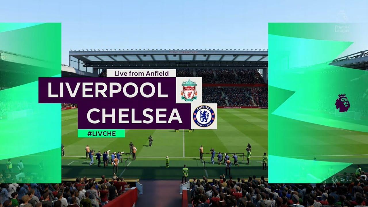 ⚽ Liverpool vs Chelsea ⚽ | Premier League (22/07/2020) | Fifa 20 ...
