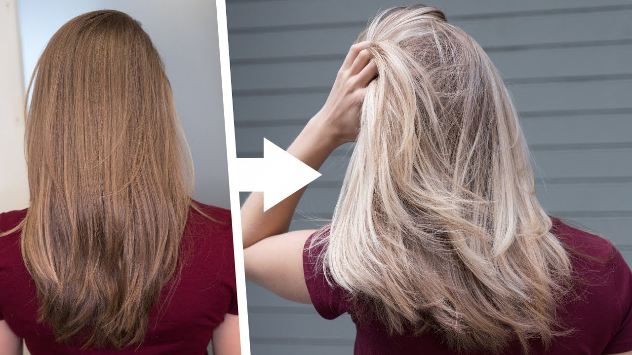 Perfect Blonde Balayage Tutorial Youtube