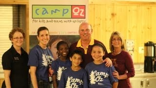 Video Coach Kill Visits Camp Oz for Kids with Epilepsy download MP3, 3GP, MP4, WEBM, AVI, FLV Juli 2018