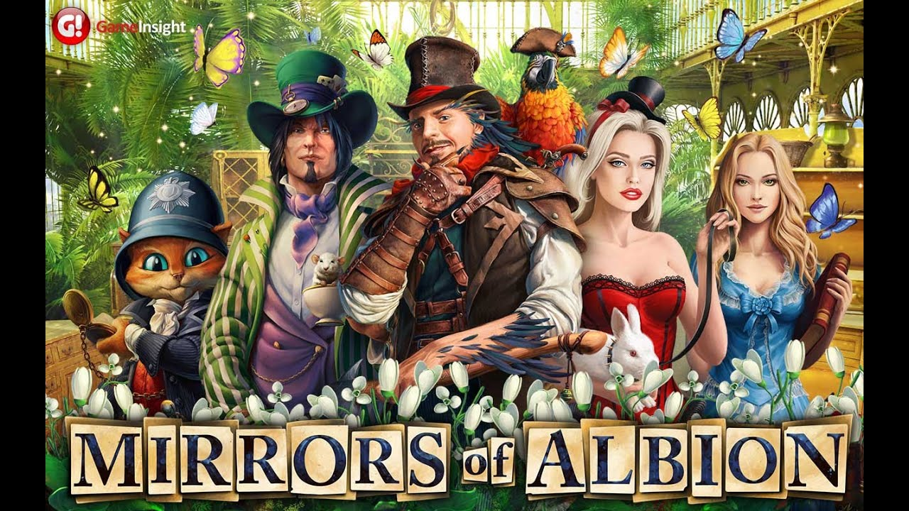 Alice in the mirror of Albie adventures game for iPhone & iPad 2018