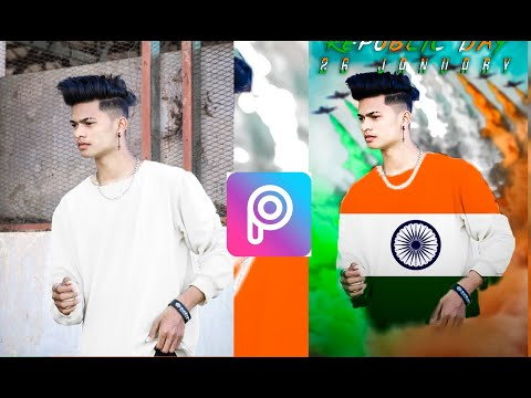 Picsart Happy Republic Day Photo Editing India 2020 || 26 January Republic Day Photo Editing 2020