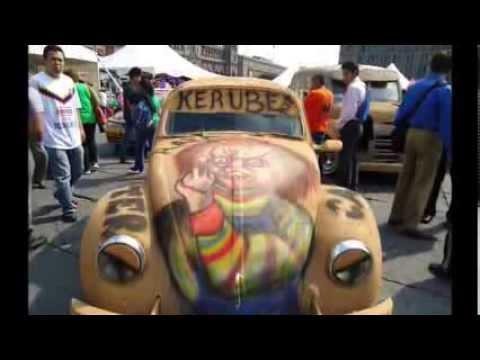 Monster Cars Hnos Diaz Celebracion Del Dia De Muertos Youtube