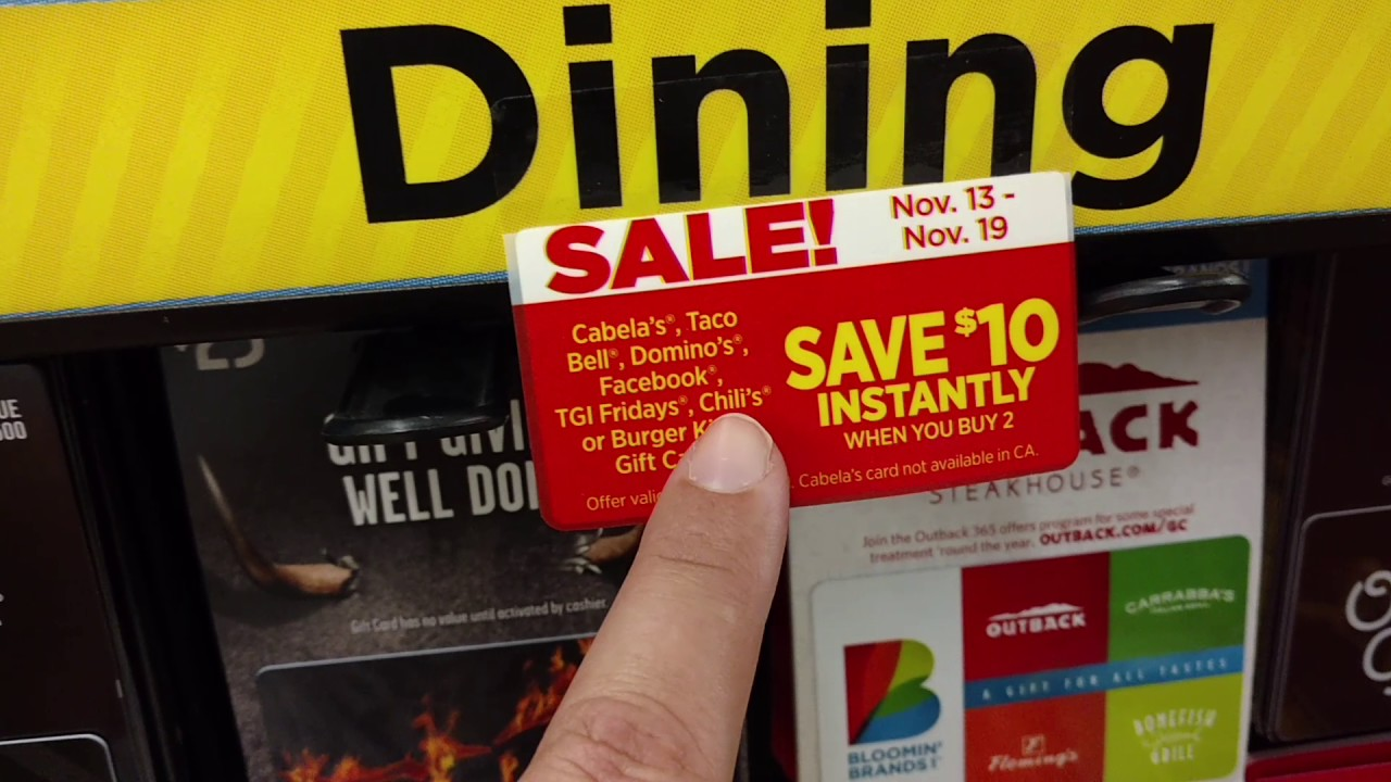 Dollar General: $20 Burger King Gift Card for only $10!!! - YouTube