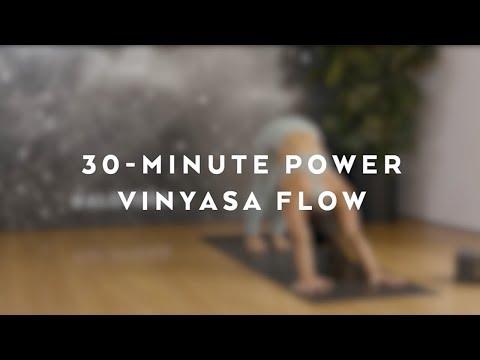 30-Minute Power Vinyasa Flow with Briohny Smyth