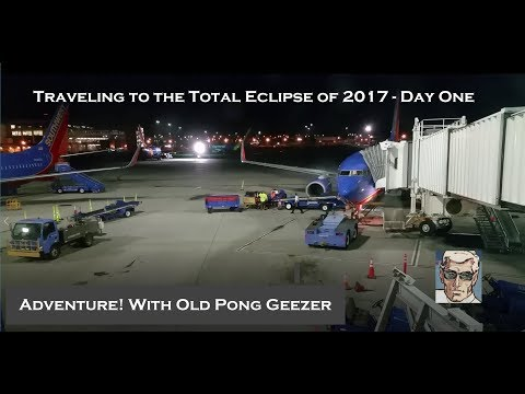 Traveling to the Total Eclipse of 2017 - Day 1