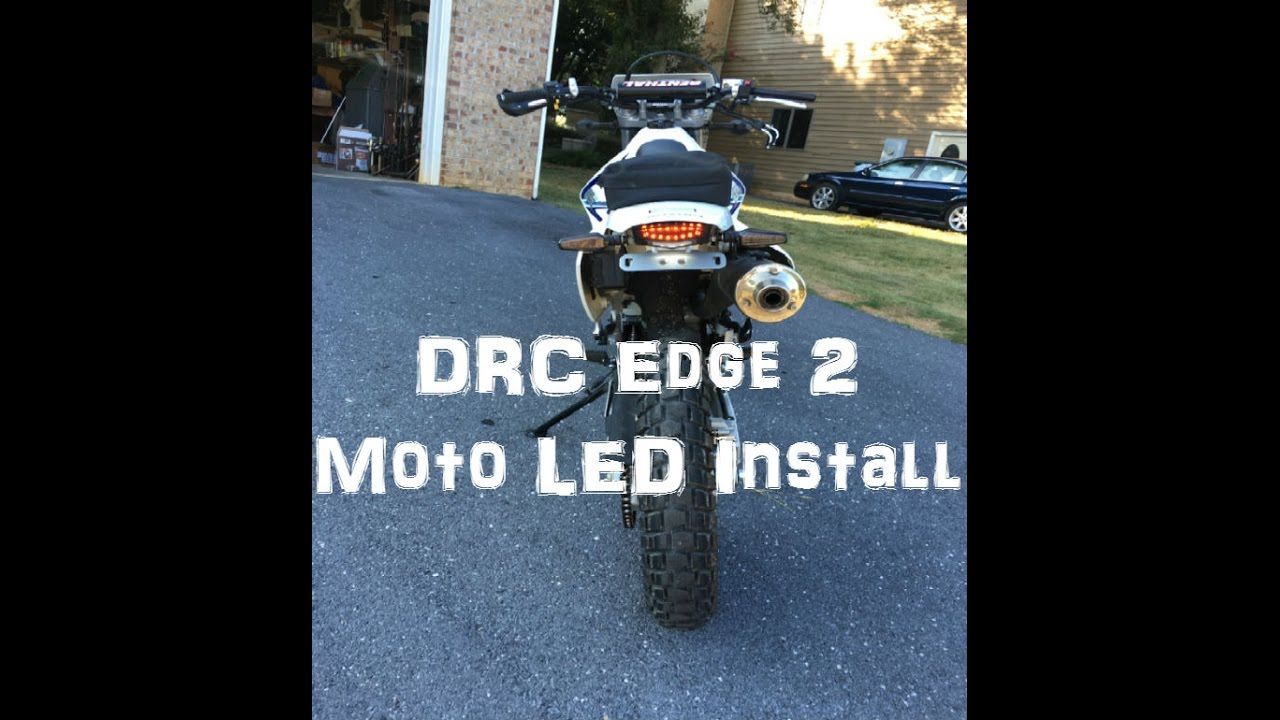 DRC Edge 2 Moto LED with Signals How To and Walkthrough on DRZ 400S ...