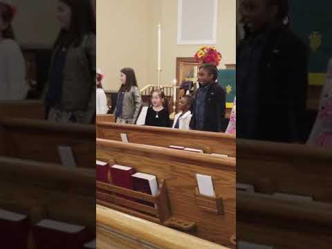 Jordan and Camden singing joy joy 11/19/2017