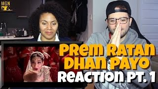 PREM RATAN DHAN PAYO   Salman Khan   Sonam Kapoor Reaction Pt.1