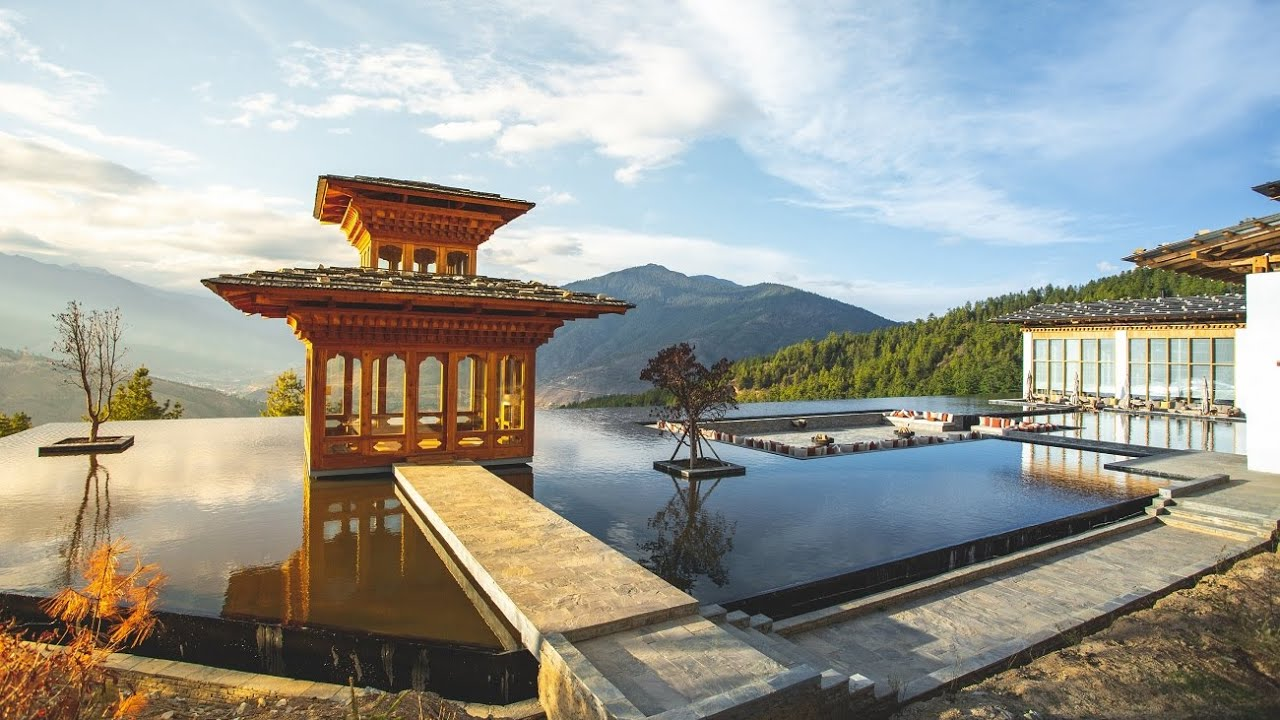 Six Senses Bhutan, Thimphu Lodge - full tour (AMAZING hotel)