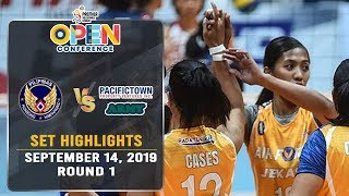 Air Force vs. PacificTown Army | Set 2 Highlights - September 14, 2019 | #PVL2019