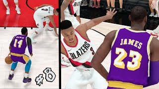 NBA 2k19 MyCAREER - SNAPPED HIS ANKLES! 4x Ankle Breakers! LeBron Team Take Over! Ep. 8