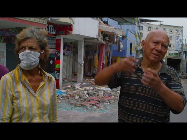 Un puissant tremblement de terre frappe Equateur