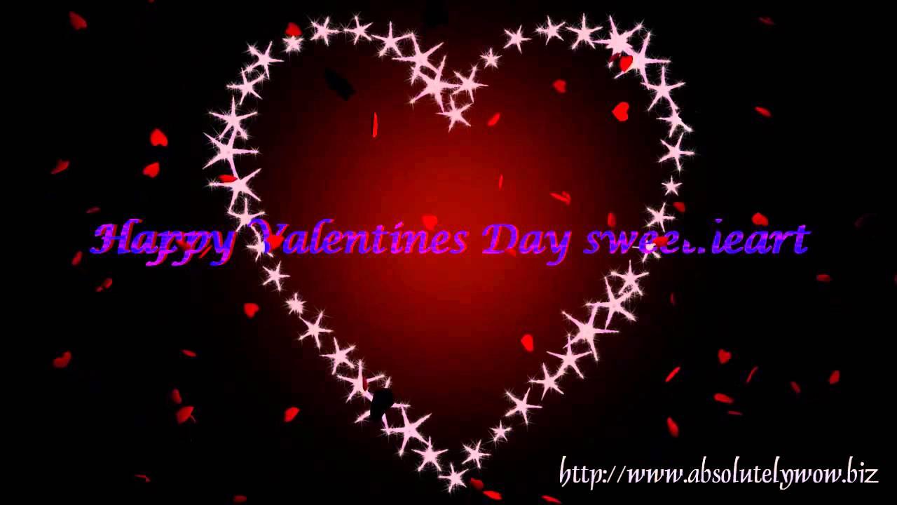 happy valentines day sweetheart 35005 youtube - Happy Valentines Day Sweetheart