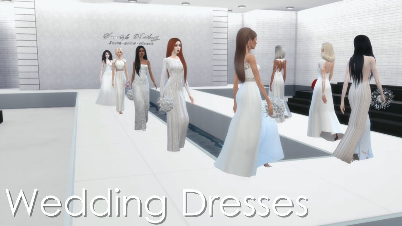 Marina Maitland Wedding Dress Wedding Dress Sims 4