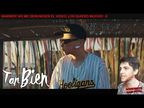 LIT killah - Tan Bien (Official Video) ft. Agus Padilla // REACCION LICK