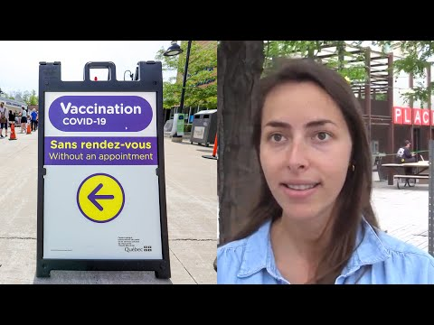 Montrealers react to Quebec's proposed vaccine passport system