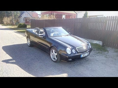 mercedes benz clk kompressor cabrio w208 youtube. Black Bedroom Furniture Sets. Home Design Ideas