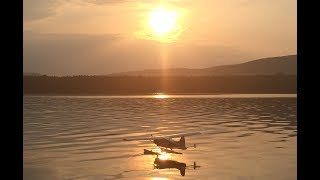RC DHC-2 Beaver Scale FPV flight around the lake