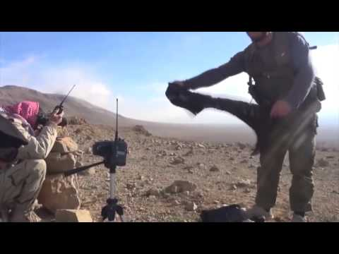 Syria, Damascus, Dumayr Desert, Syrian Arab Army Ambush ISIS @ Two Locations.