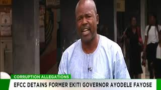 Corruption Allegation | EFCC Detains Former Ekiti State Governor, Ayo Fayose
