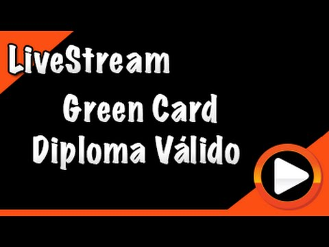 Validar o diplomar Brasileiro e ter o green card