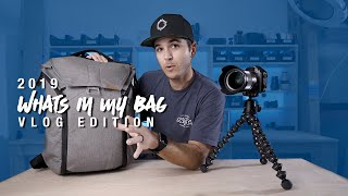 2019 What's in My Camera Bag VLOG EDITION