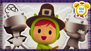🔬POCOYO in ENGLISH - Halloween: The marvelous inventor [104 min] Full Episodes |VIDEOS & CARTOONS