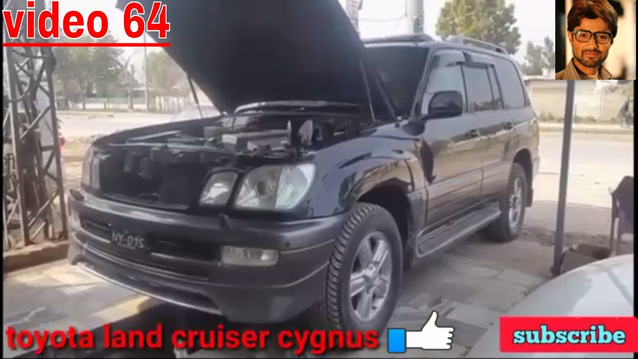 How to change engine oil, oil filter, Air filter  The right way  example  Land cruiser cygnus V8