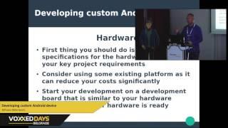 Developing custom Android device - Mihailo Milenkovic