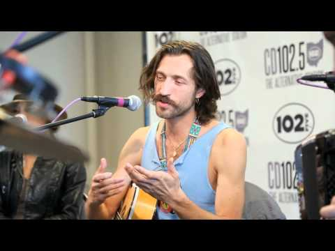 Gogol Bordello Live Music & Interview in the CD102.5 Big Room