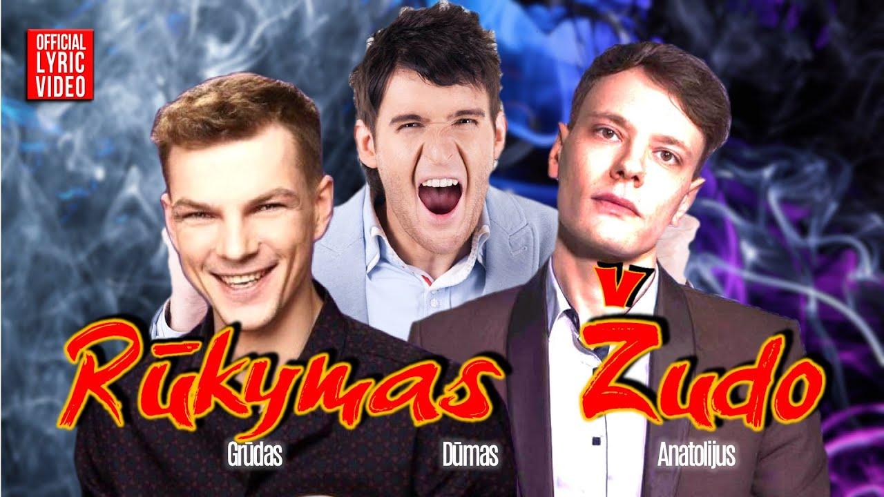 Anatolijus, Dūmas ir Grūdas – Rūkymas Žudo (Official Lyric Video). Lietuviškos Dainos
