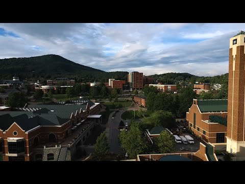 Appalachian State University Drone Flyover (DJI Phantom 3 Advanced) (2.7K)