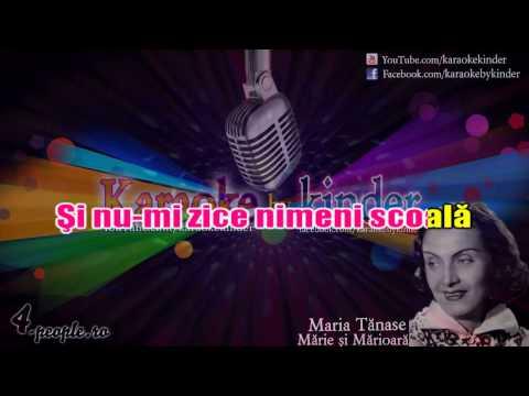 karaoke - Mărie şi Mărioară