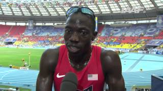 Moscow 2013 - Lopez LOMONG USA - 1500m Men - Semi Final - Heat 1