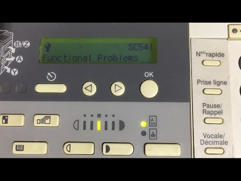 Richo Aficio infotech 1113 error code reset