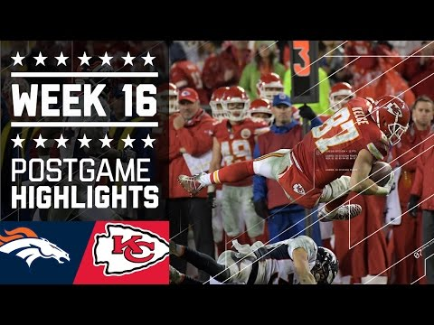 Broncos vs. Chiefs | NFL Week 16 Christmas Game Highlights