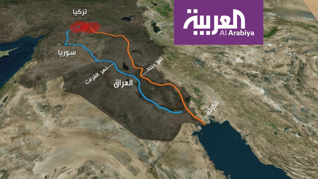 هل يصبح العراق صحراء بسبب تركيا وإيران Youtube