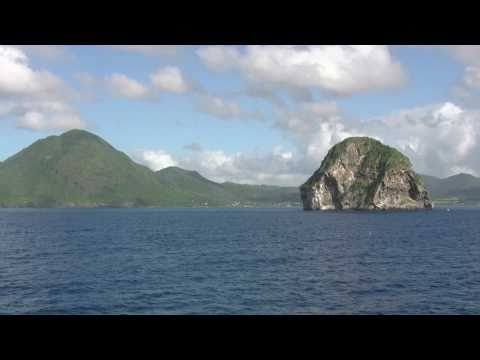 Martinique, Rocher du Diamant et Fort de France Kreuzfahrt cruise ship arrival and city life
