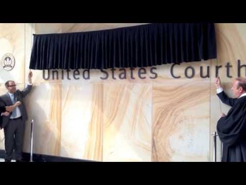 Robert H. Jackson United State Courthouse Naming Ceremony