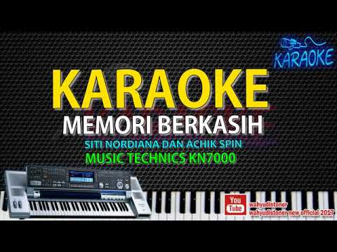 Karaoke Memori Berkasih (SITI NORDIANA & ACHIK SPIN) Technics KN7000 HD Quality Lirik No Vocal 2018
