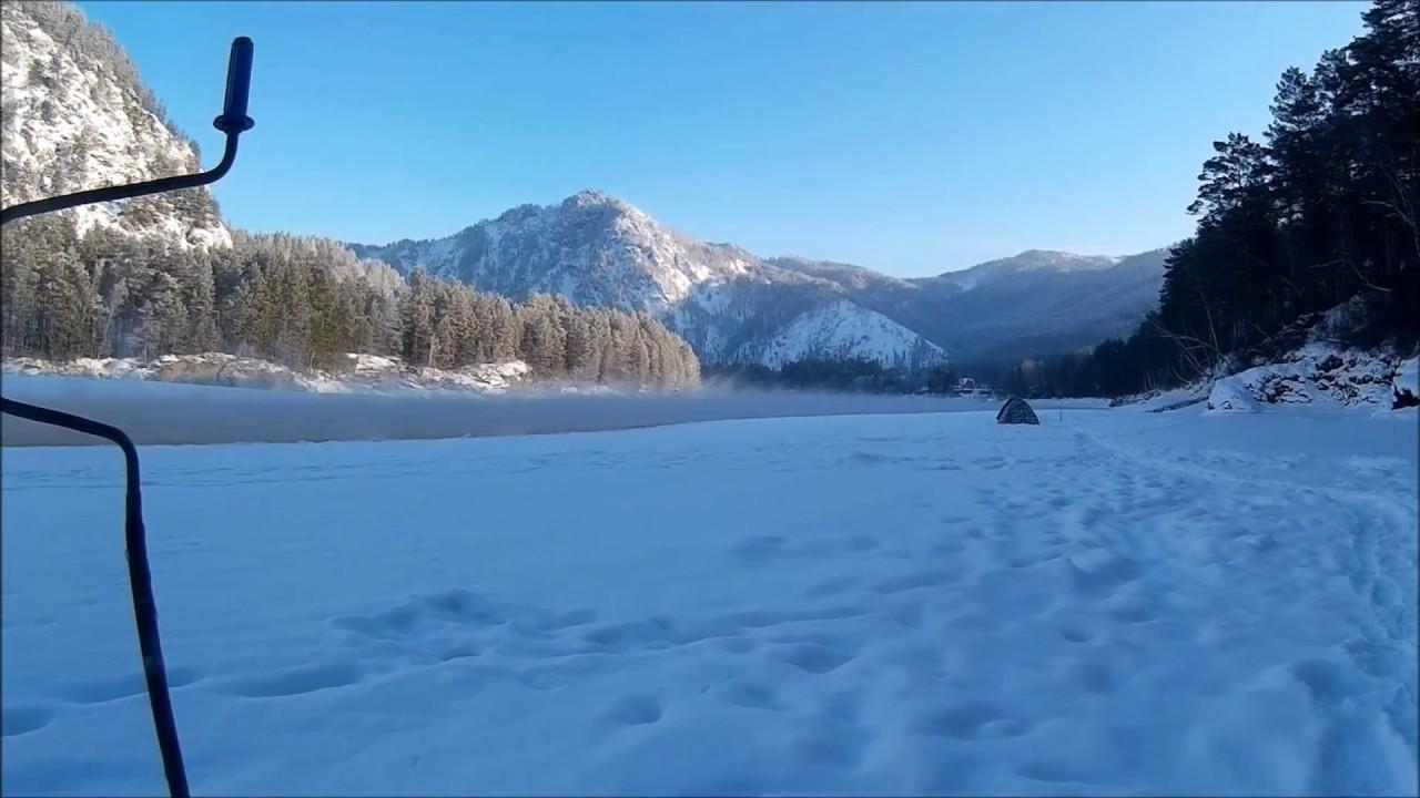 Зимняя рыбалка в горном алтае на хариуса