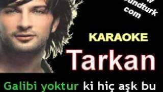 Tarkan - Beni Anlama karaoke
