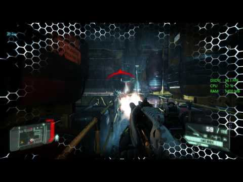 Intel HD Graphics 630 -- Intel Core i3-7100 -- Crysis 3 FPS Test