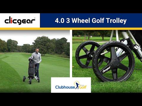 Clicgear 4.0 3 Wheel Golf Trolley