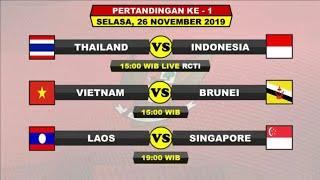 HARI INI!!! TIMNAS U23 VS THAILAND JADWAL SEA GAME 2019
