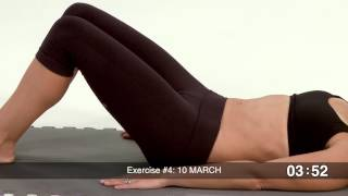 Repeat youtube video Postnatal Core Workout for 6+ weeks Postpartum- includes modifications for Diastasis Recti