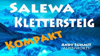 Andy Summit  -Alpinsports-   Salewa Klettersteig -KOMPAKT-  Alpin Challenge 2015
