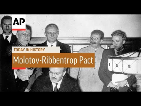 Molotov-Ribbentrop Pact - 1939 | Today In History | 23 Aug 17