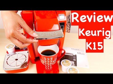 Keurig K15 Single Serve Compact K-Cup Pod Coffee Maker REVIEW